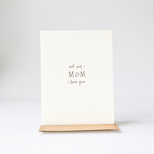 Load image into Gallery viewer, Wow Mom Card