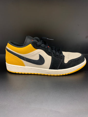 Jordan 1 Low Sail University Gold Black (Used)