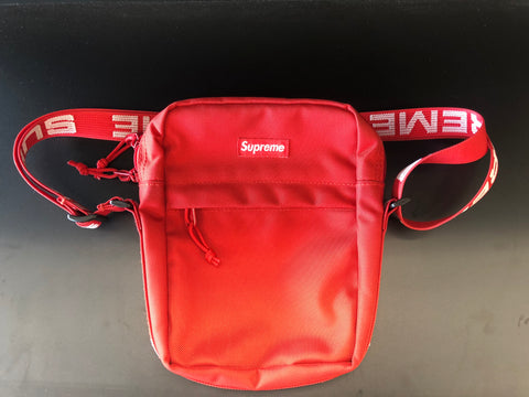 Supreme Shoulder Bag (SS18) Red (Used)