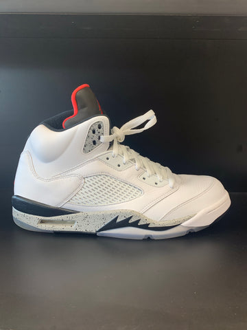 Jordan 5 Retro White Cement (Used)