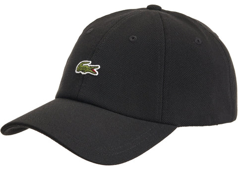 Supreme LACOSTE Pique 6-Panel Black