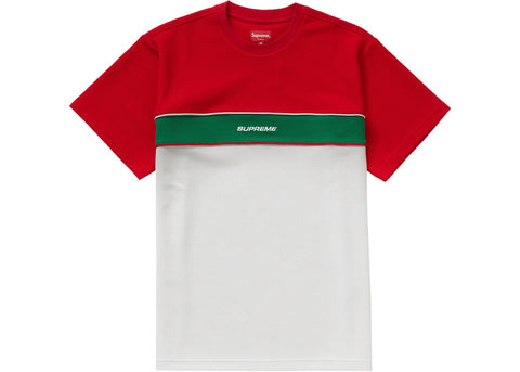 Supreme Piping Practice S/S Top Red