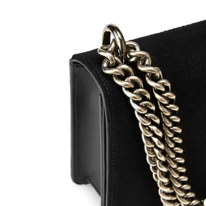 NAKEDVICE | The Chain Black Suede