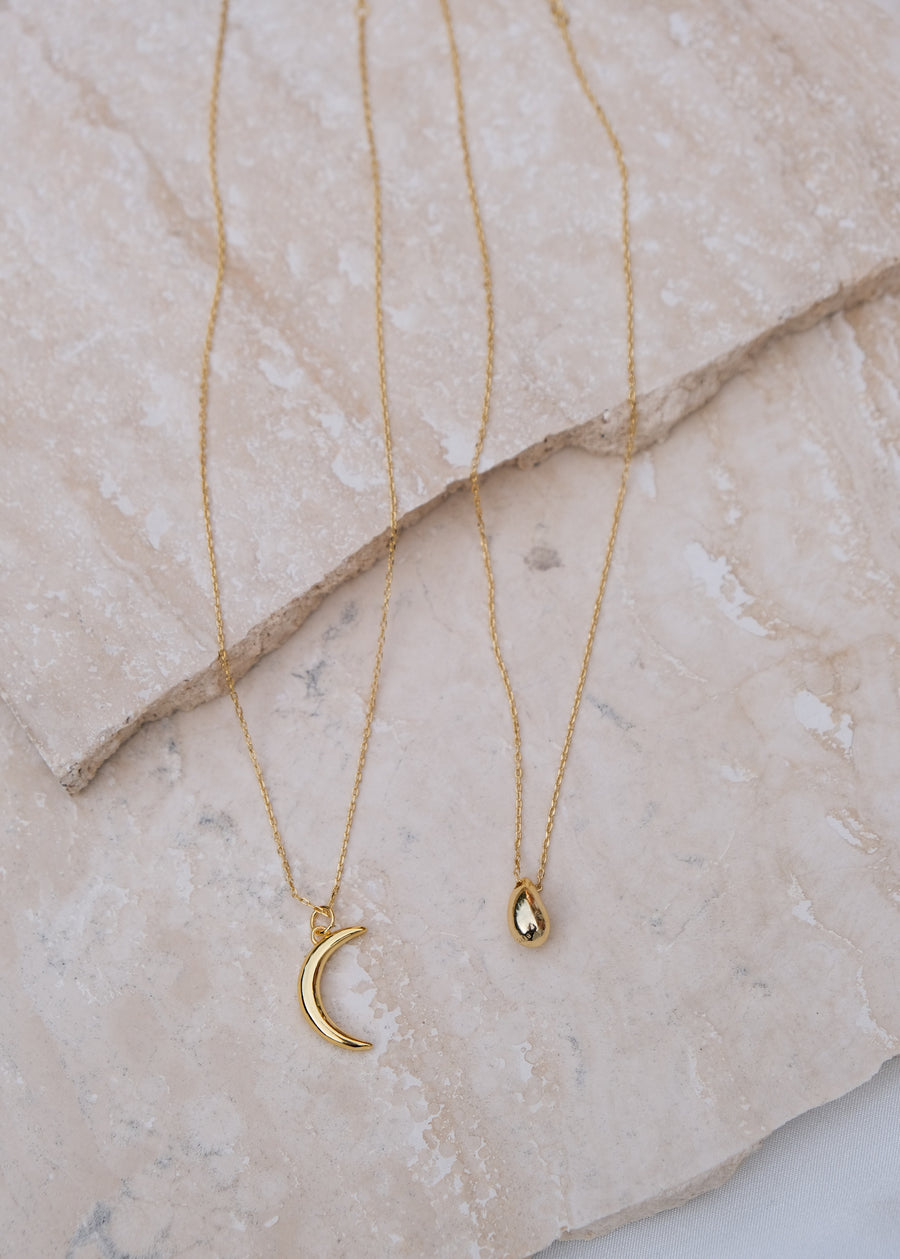 REIN ACCESSORIES | Moon Necklace