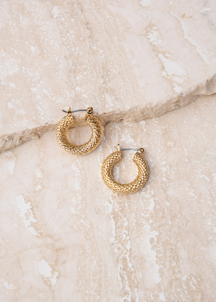 REIN ACCESSORIES | Twisted Hoops