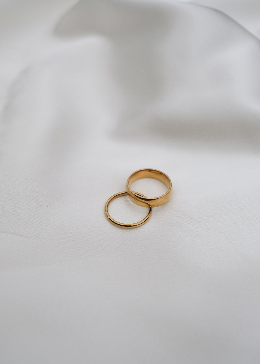 REIN ACCESSORIES | Minimal Ring - Thick