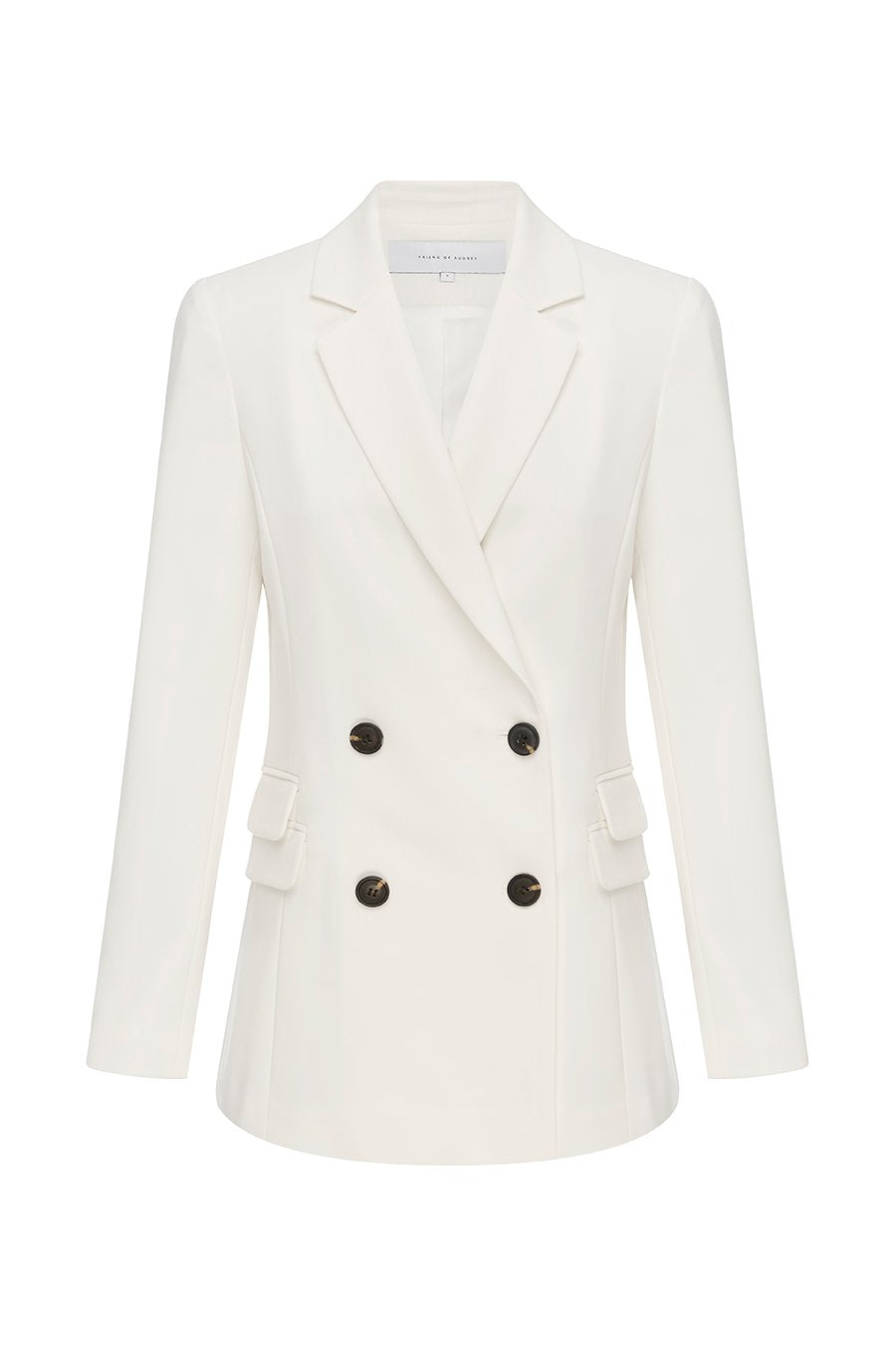 FRIEND OF AUDREY | Marc Double Breasted Blazer