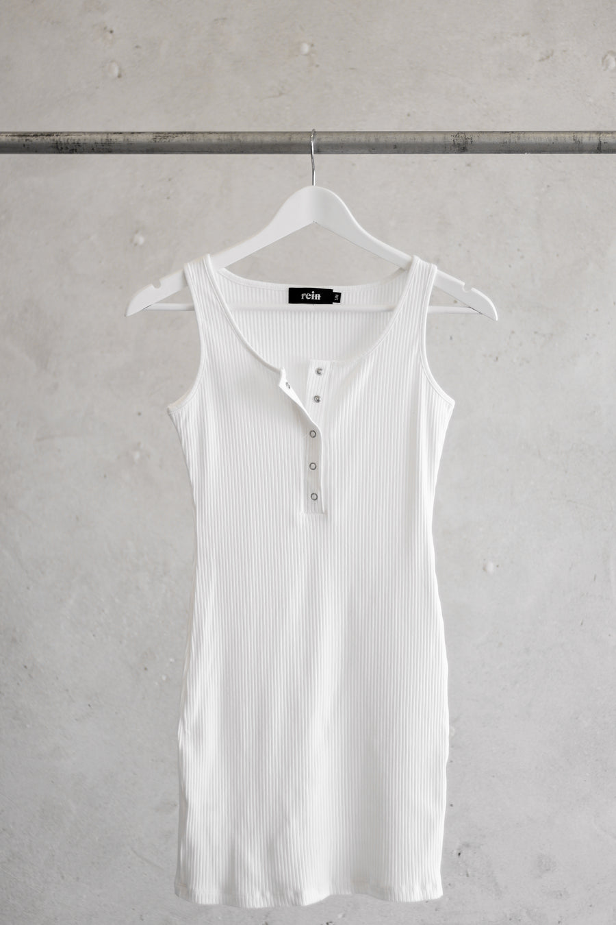 REIN | Button Tank Dress