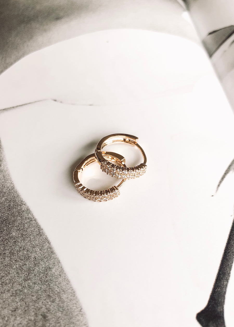 REIN ACCESSORIES | Audrey Cuff Hoop