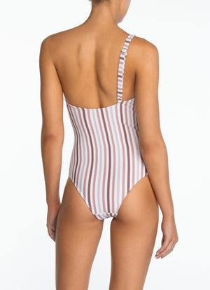 PEONY SWIMWEAR | Parfait One Shoulder One Piece