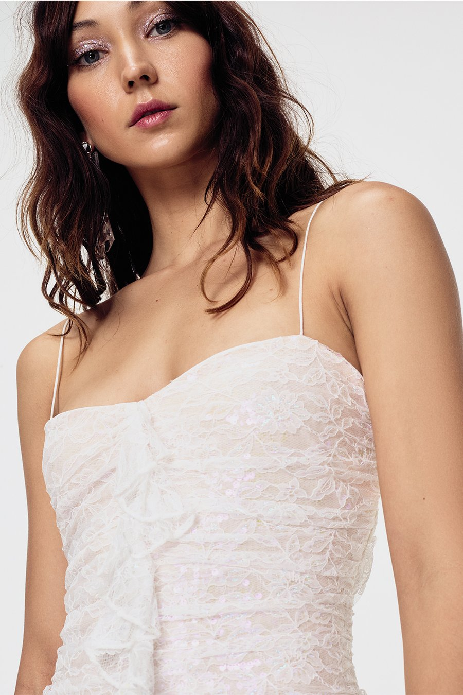 FOR LOVE AND LEMONS | Rodin Iridescent Mini Dress
