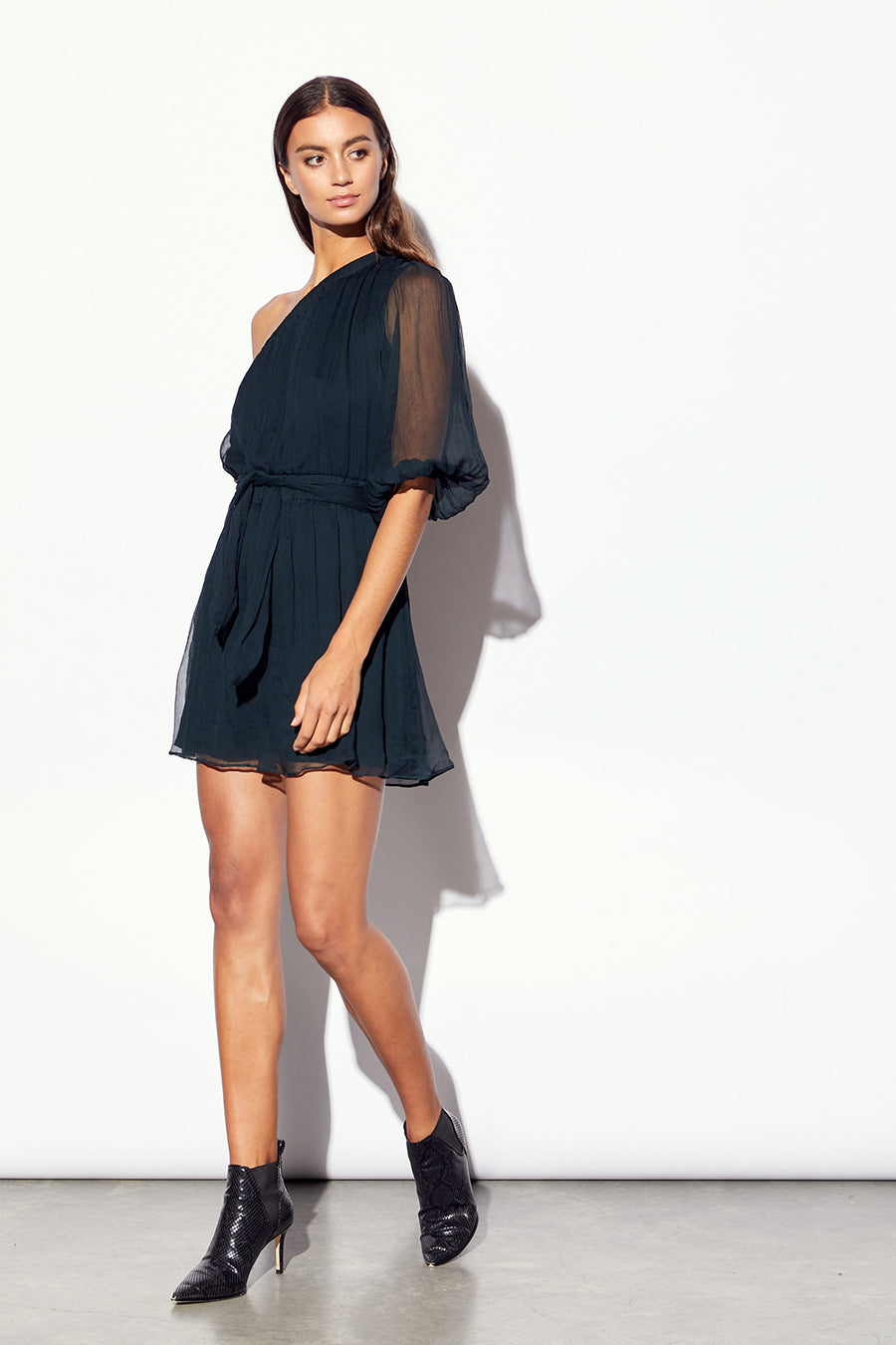 MLM LABEL | Metz Silk Mini Dress