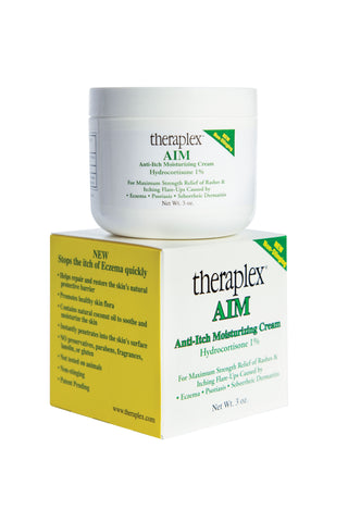 NEW Theraplex AIM Anti-Itch Moisturizing Cream