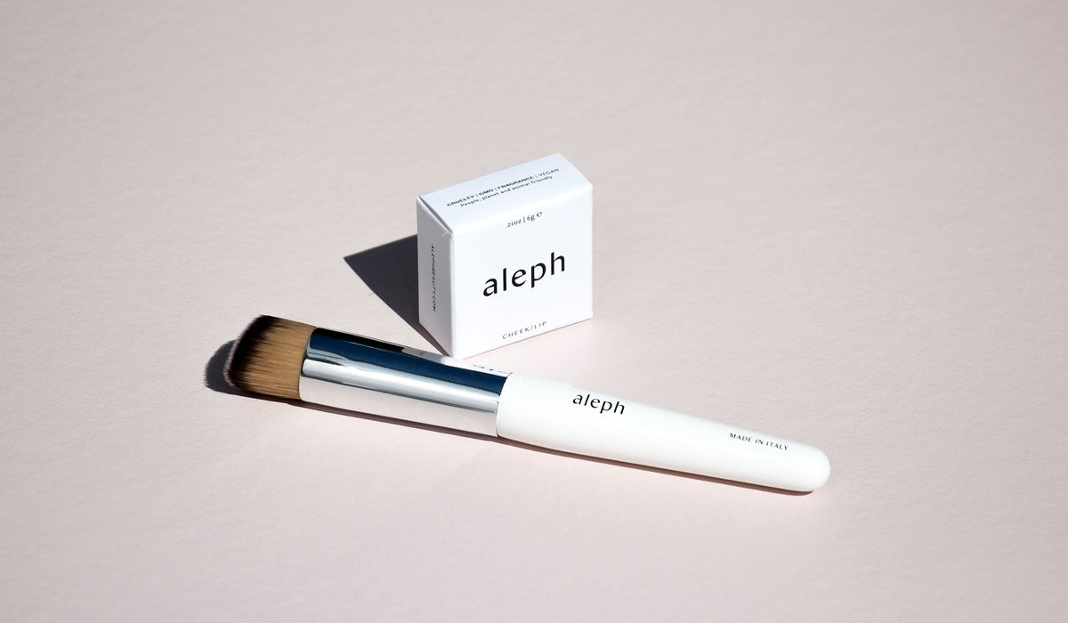 Natural Beauty Aleph Makeup and Brush