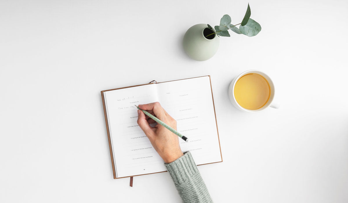 effortless self care writing a diary