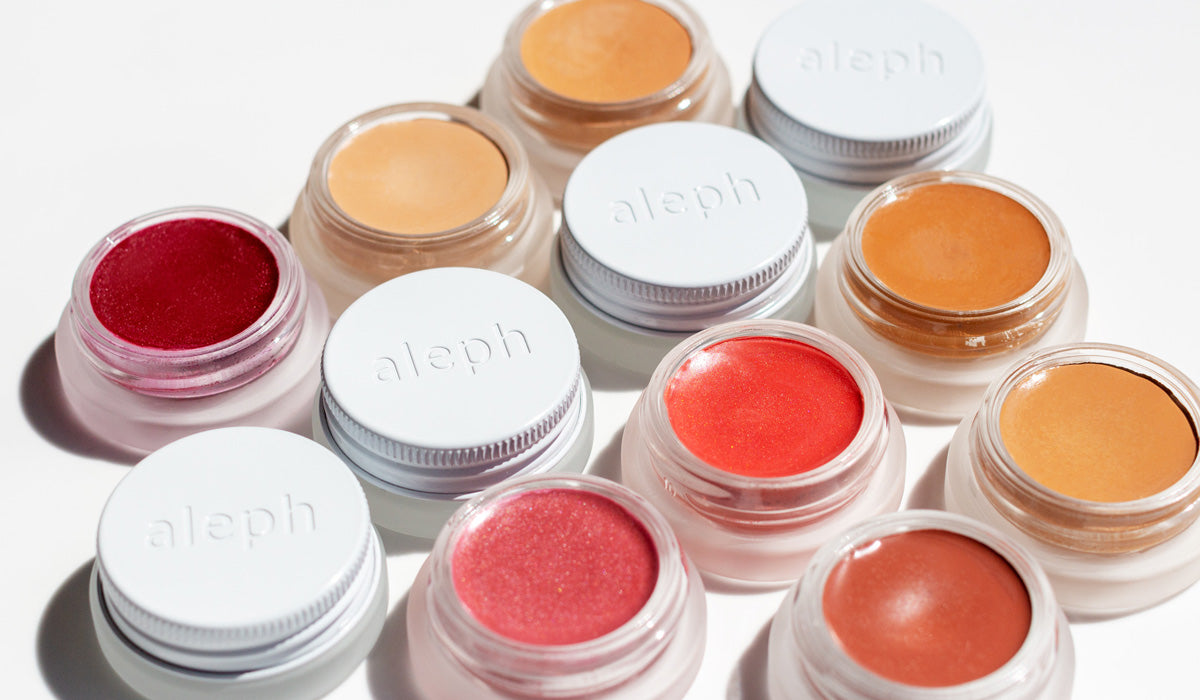how to apply blush aleph beauty makeup pots