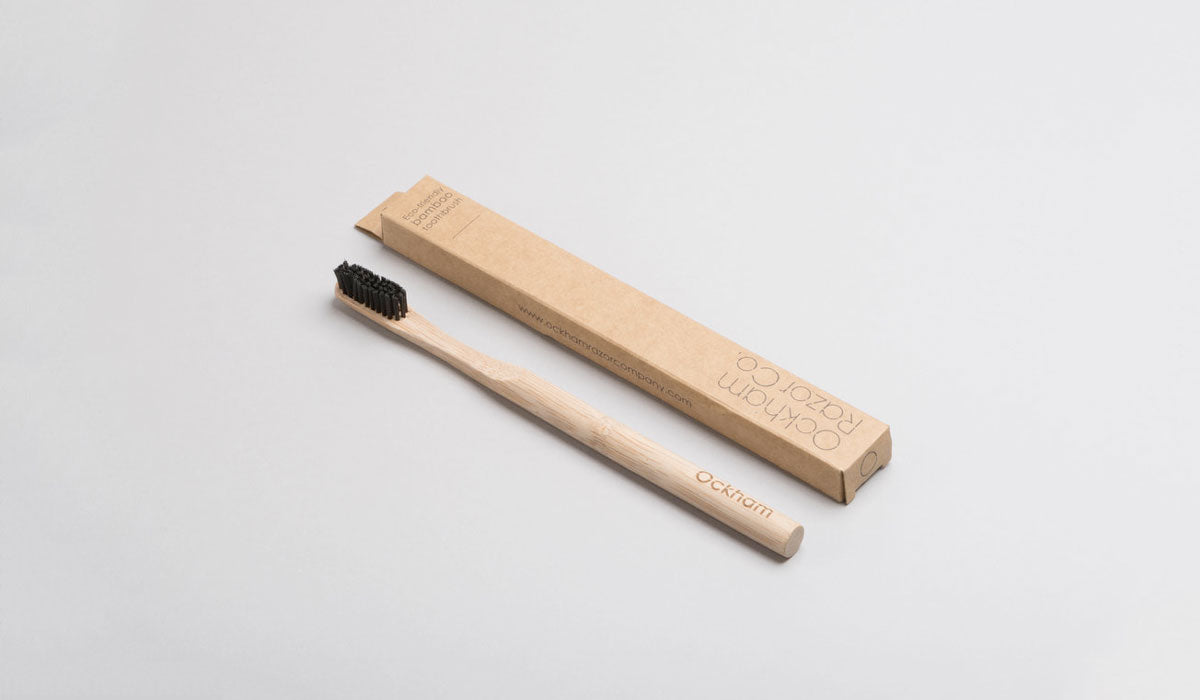 plastic free beauty bamboo toothbrush