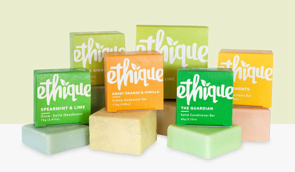 plastic free beauty ethique zero waste bars