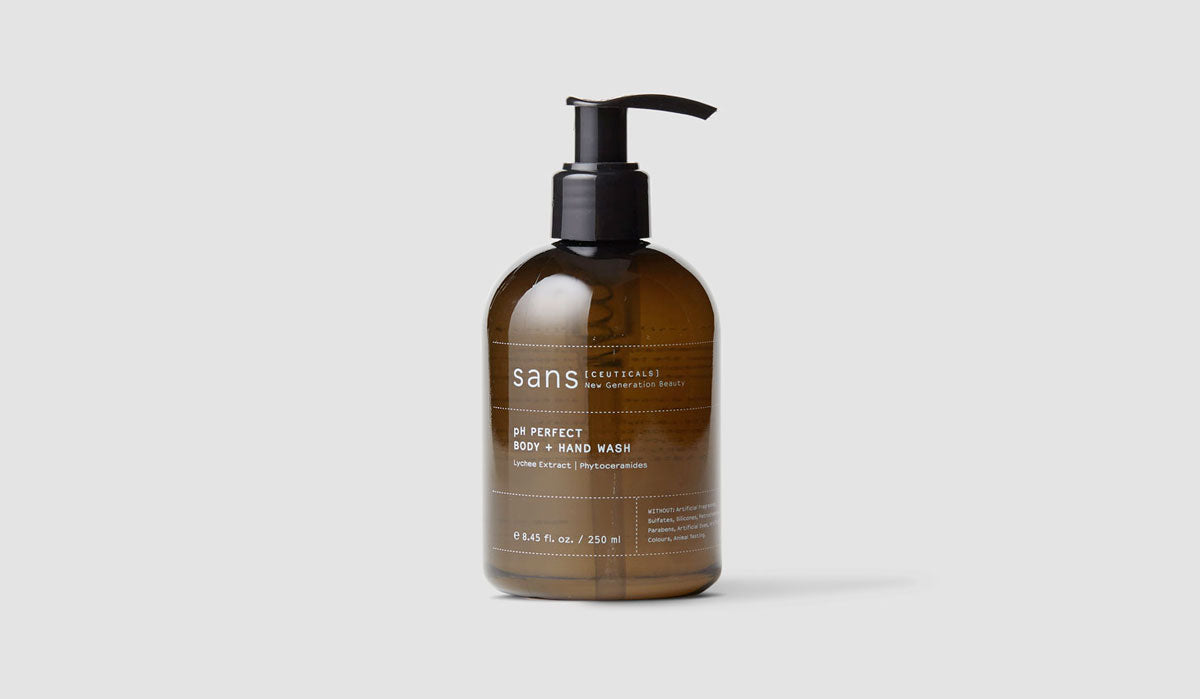 sustainable beauty Sans ceuticals pH Perfect Body Wash