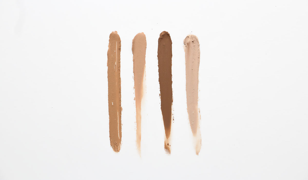 sustainable beauty aleph foundation concealer swatch