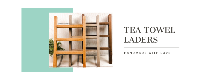 Tea Towel Ladders