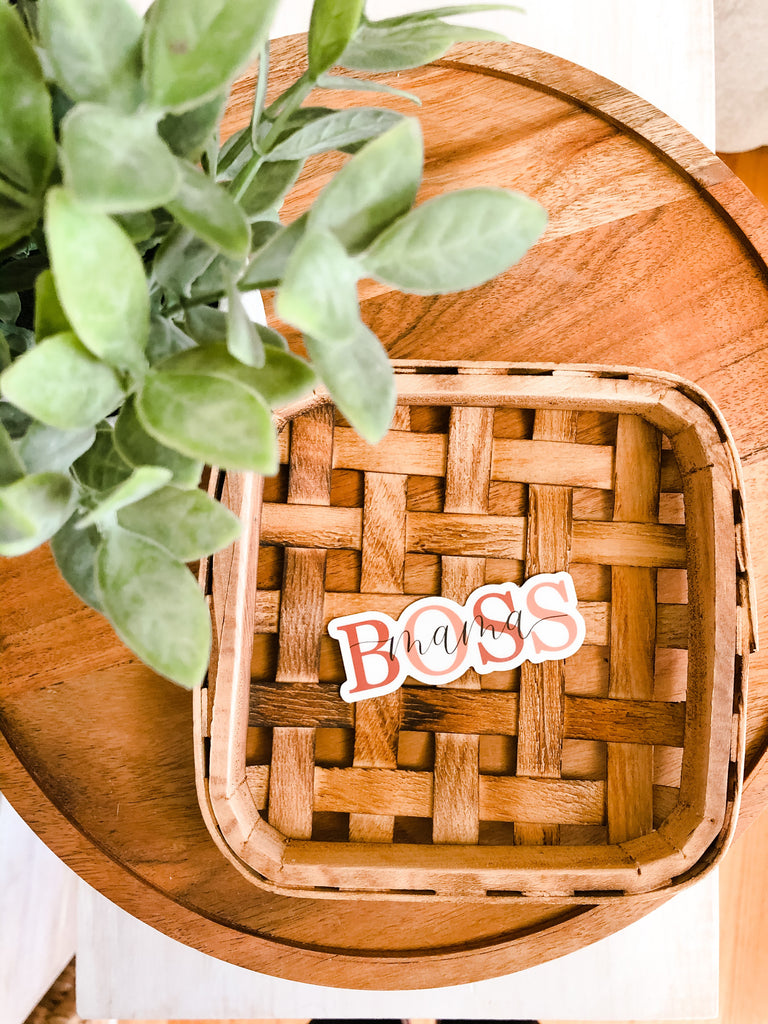 Boss Mama 1x3in Sticker