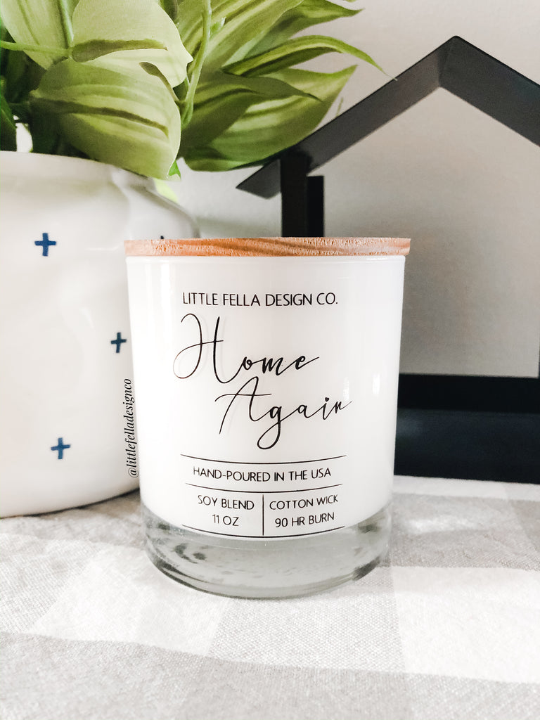 Home Again Soy Candle