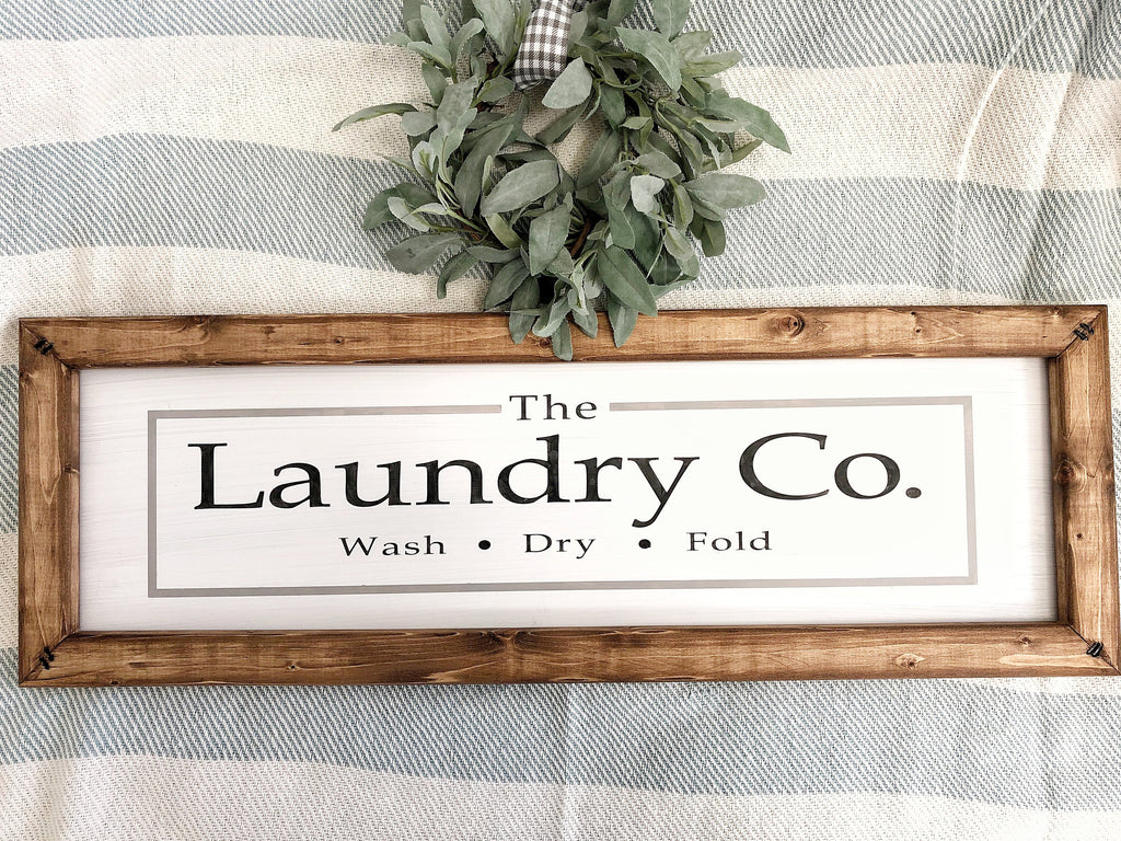 Laundry Sign, Housewarming Gift, Laundry Room Sign