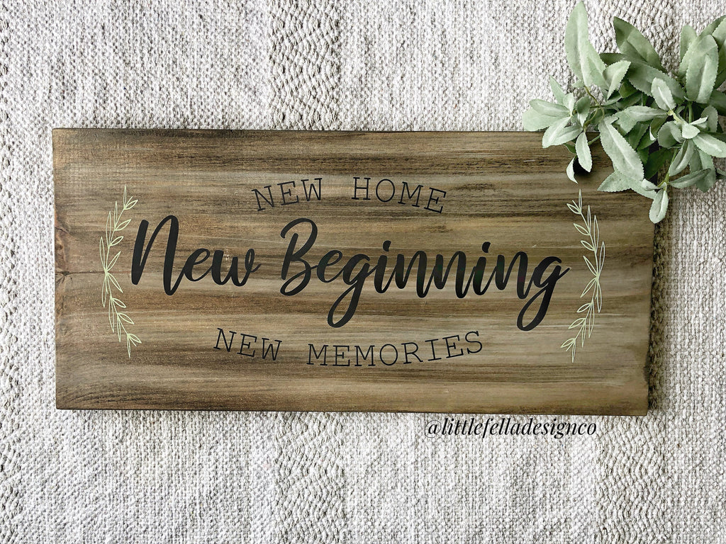 Family Name Barnwood Sign, Family Name Sign, New Home Sign, Housewarming Gift, Last Name Sign