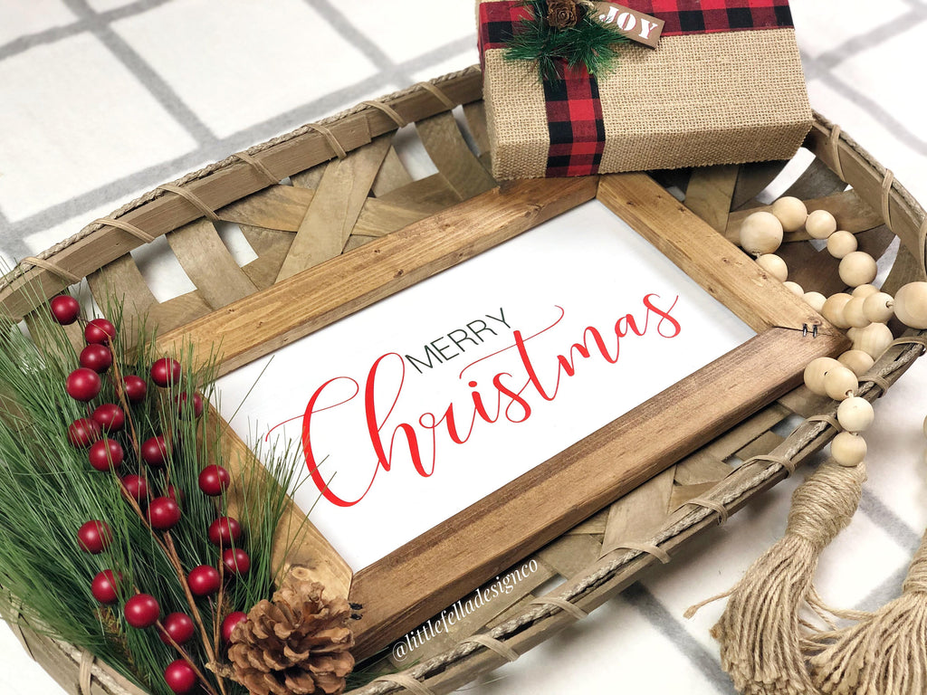 Merry Christmas Wood Sign, Christmas Wood Sign, Christmas Gift, Christmas Decor