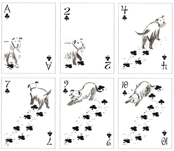 Pack of Dogs Playing Cards