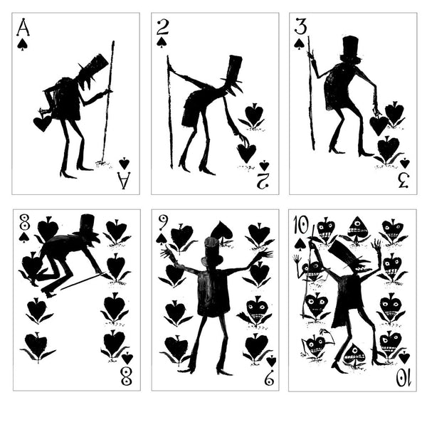 Bag of Bones Playing Cards