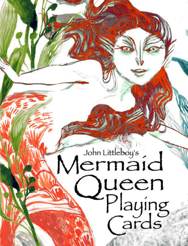 Mermaid Queen Playing Cards