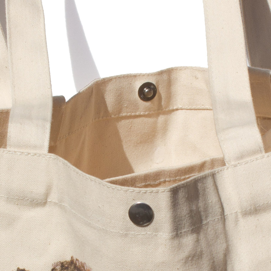 Social Knitworking Tote Bag