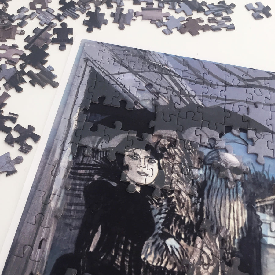 Sinister Visitors - Jigsaw Puzzles