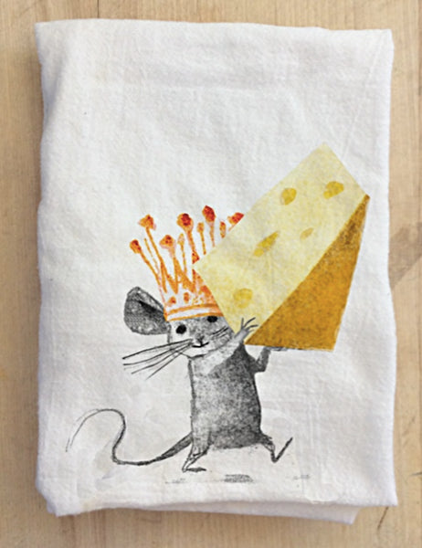 Cheese & Thank You Tea Towel