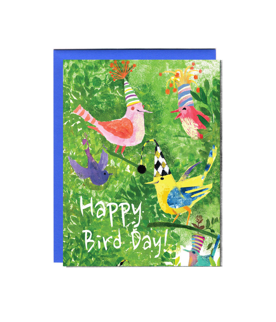 Happy Bird-Day (Trifold)