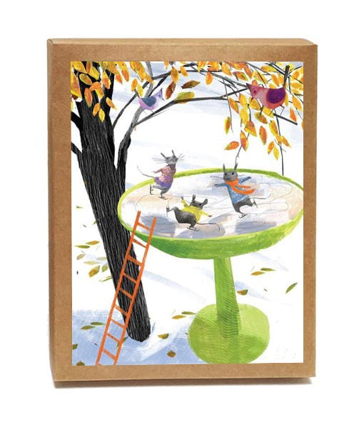 Mice & Birds Skate Boxed Notes - Set of 8 Cards
