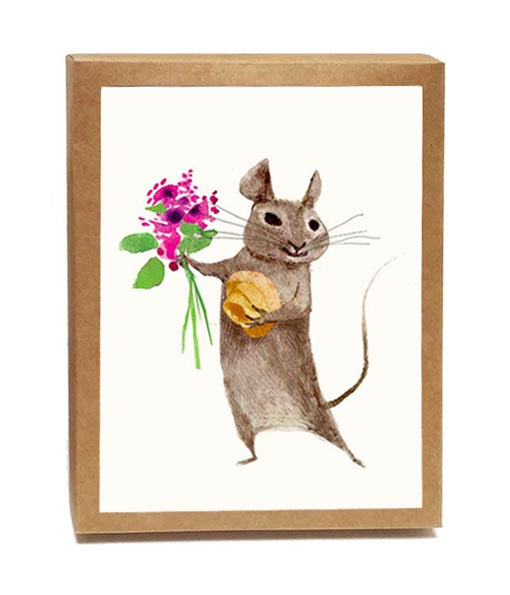 Mousie Beaucoup Boxed Notes - Set of 8 Cards