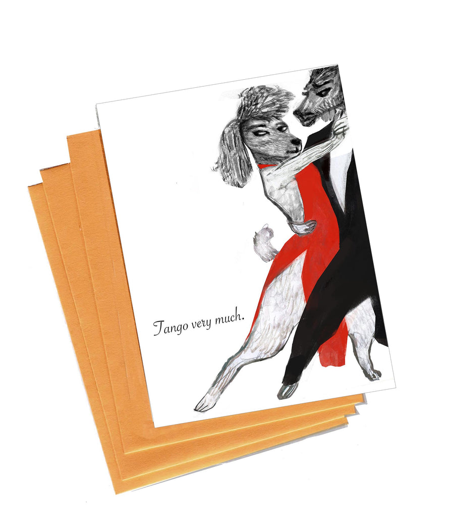 Tango Very Much Boxed Notes - Set of 8 Cards