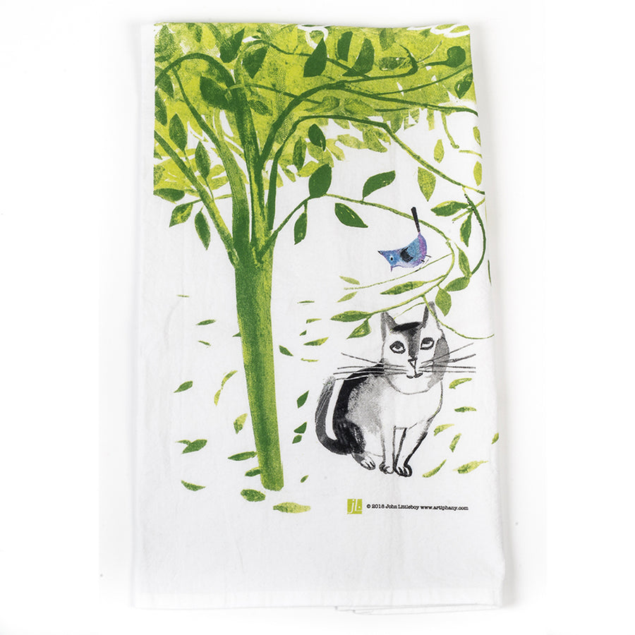 Miss You Tea Towel