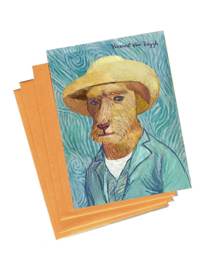 Vincent Van Dogh Boxed Notes - Set of 5 Cards