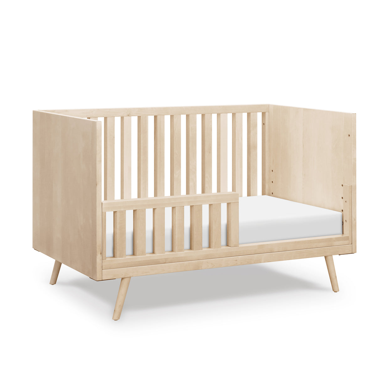Nifty Toddler Rail Extension Kit in Birch