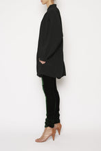 BOTANIC SMOCK DRESS - BLACK