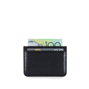 THE OPIUM CARD HOLDER BLACK SILVER