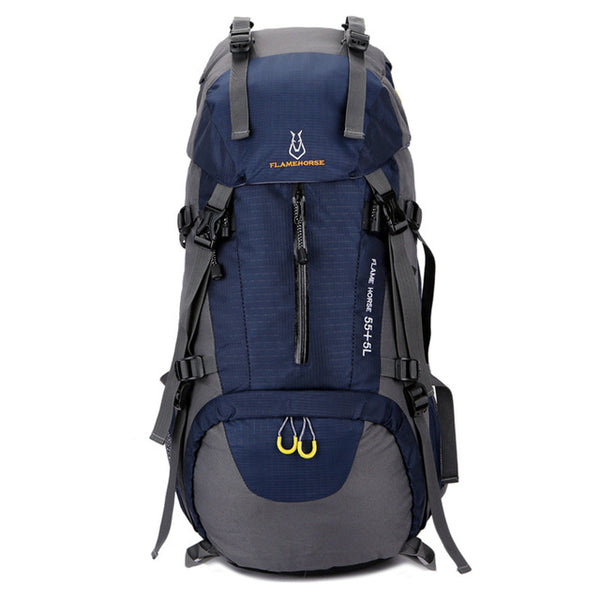 60L Professional Waterproof Climbing Backpacks Men Women Trekking Backpack Large Capacity Travel Bag For Camping Hiking Mochila