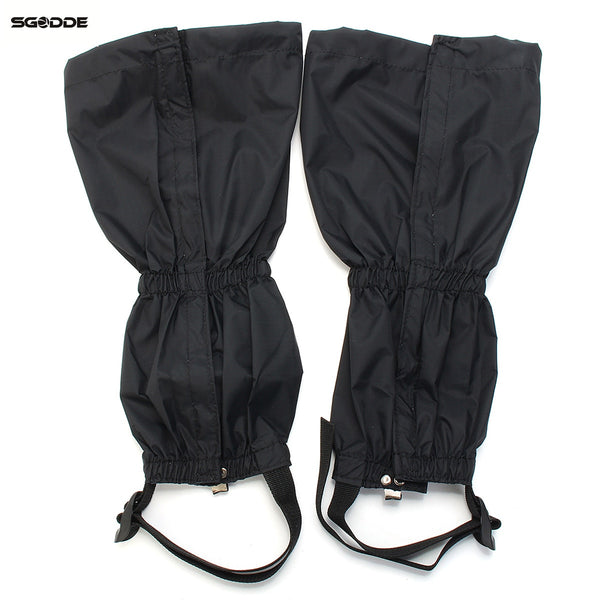 1pair Waterproof Breathable Outdoor Hiking Walking Climbing Hunting Trekking Snow Legging Gaiters Leg Covers outdoor tool