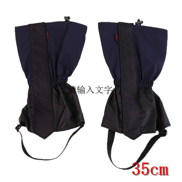 1 pair Hiking Gaiters Outdoor Waterproof Walking Mountain Hunting Trekking Desert Snow Legging Gaiters drop shipping