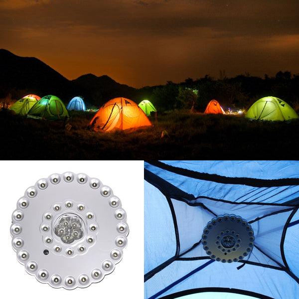 New Portable Bright 41 LED Outdoor Camping Hiking Fishing Tent Lantern Light lamp Outdoor Tools Wholesale