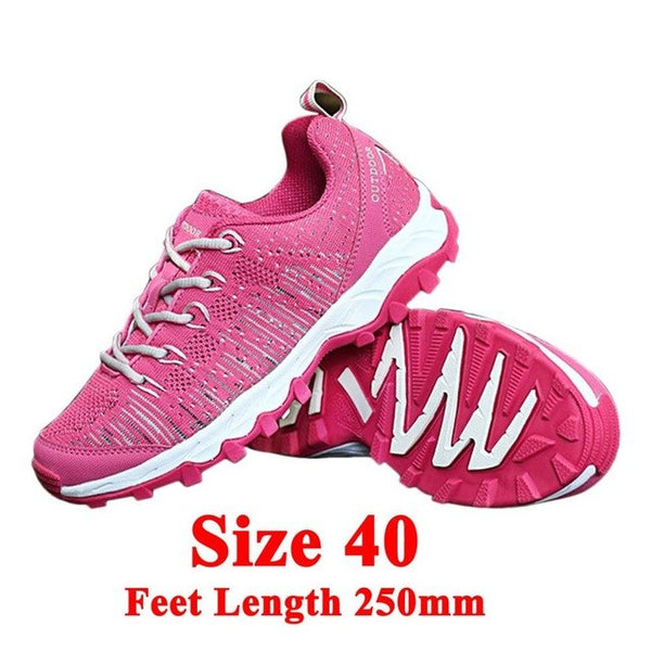 Autumn Winter Comfortable Unsex Anti-Slip Hiking Shoes Lightweight Breathable Outdoor Trekking Mountaineering Shoes Drop Ship